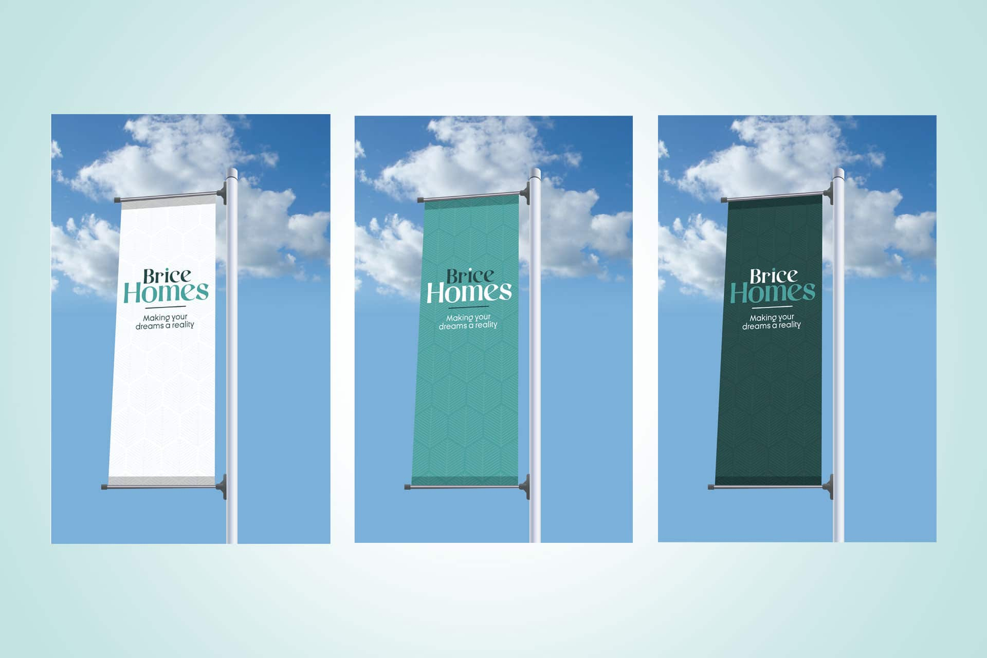 Brice Homes Outdoor Flags