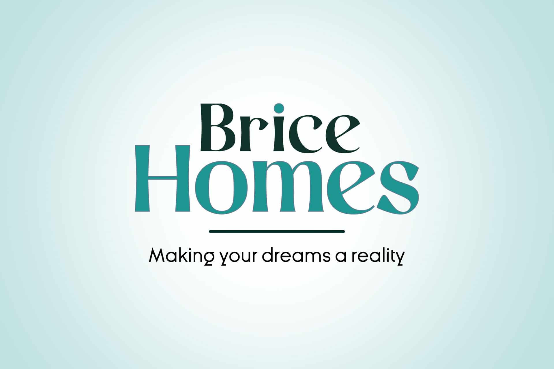 Brice Homes Logo Design