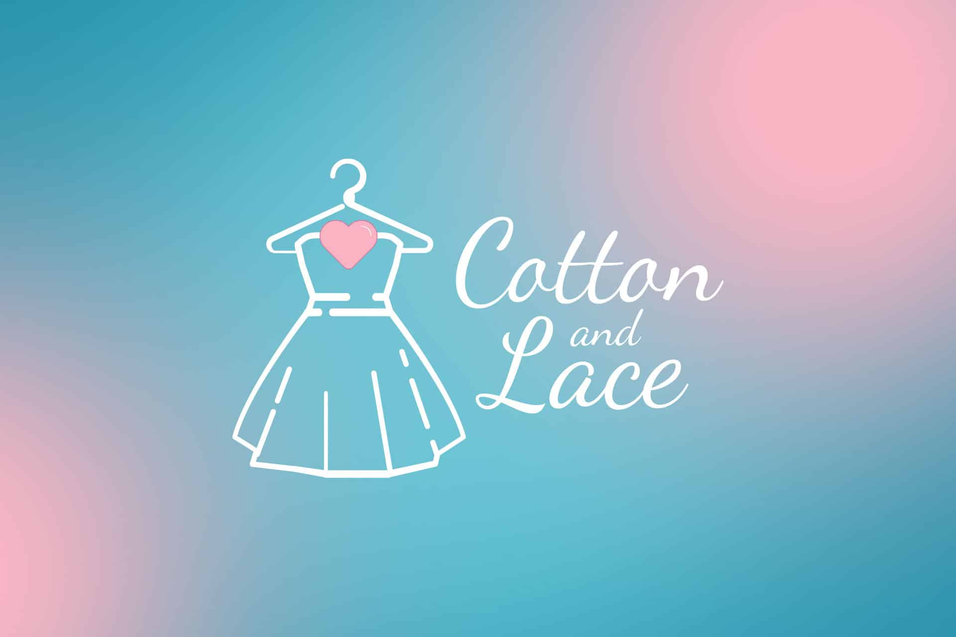 Cotton and Lace Logo Design