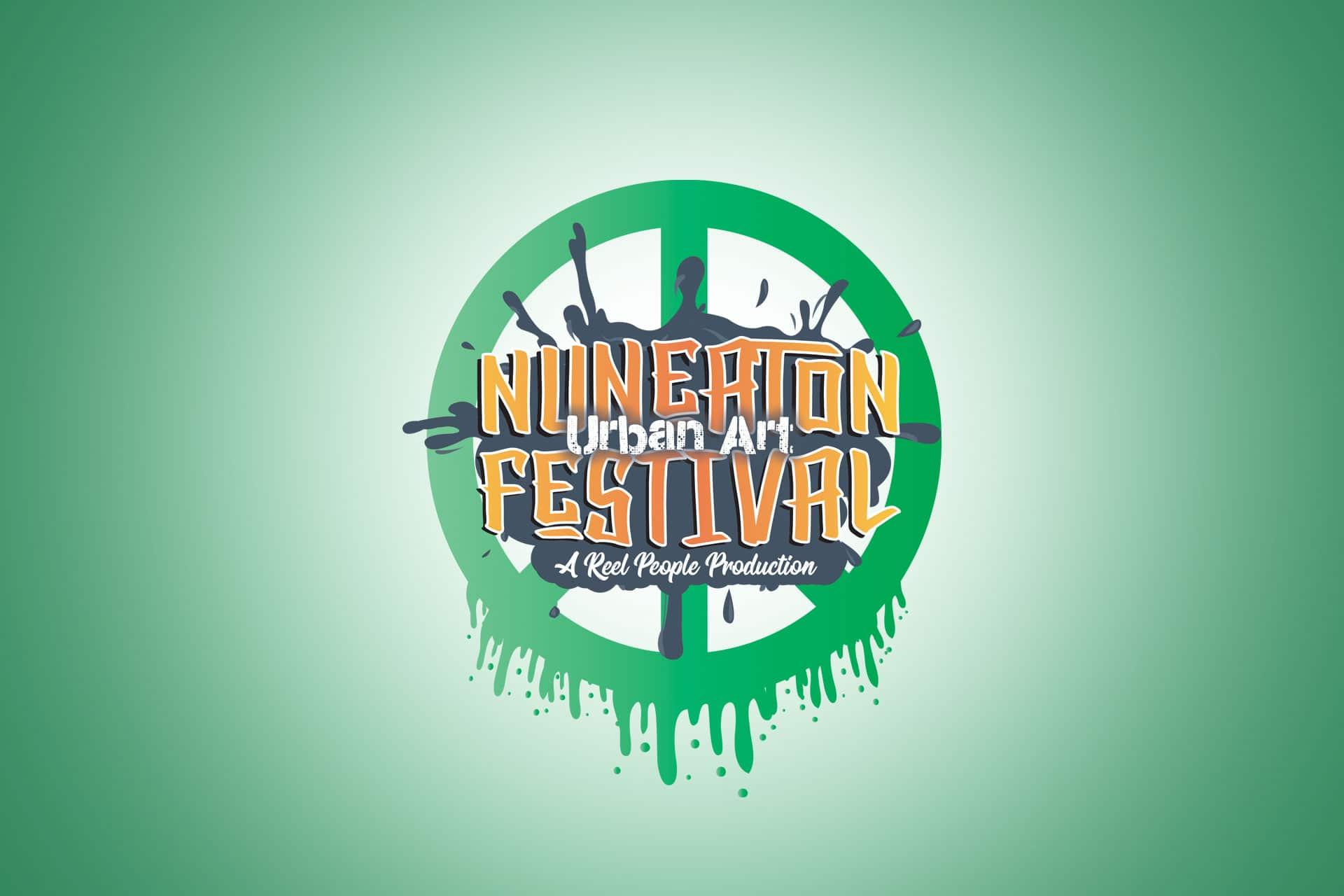 Nuneaton Urban Arts Festival Logo