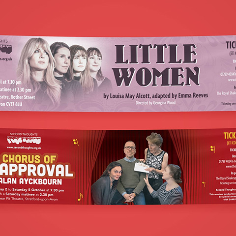 Second Thoughts Theatre Group Banners-1