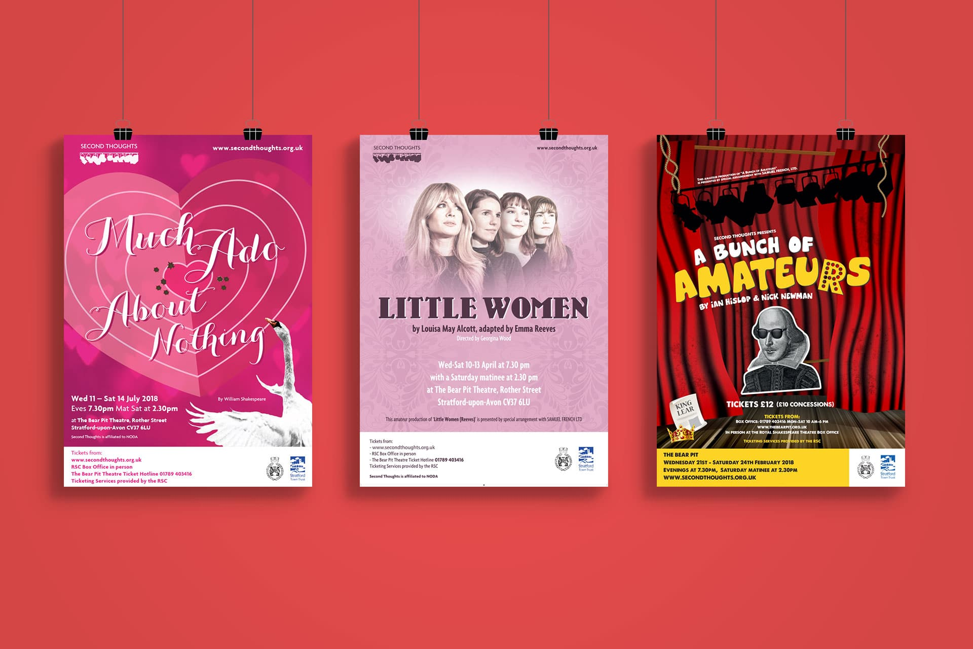 Second Thoughts Theatre Group Posters-1